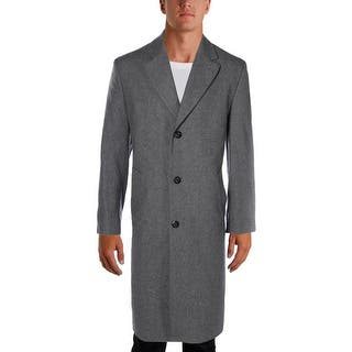 London Fog Mens Top Coat Wool Notched Lapel - 40l|https://ak1.ostkcdn.com/images/products/is/images/direct/06cf90589f4b99814ea50a35ffa3587570f2a89c/London-Fog-Mens-Top-Coat-Wool-Notched-Lapel.jpg?impolicy=medium