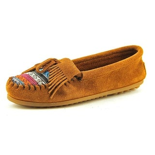 Minnetonka Kilty Moccasins    Suede  Moccasins