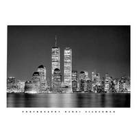 ''Manhattan'' by Henri Silberman New York Art Print (15.75 x 19.75 in.)