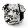 Sterling Silver Reflections Rottweiler Head Bead (4mm Diameter Hole) - Thumbnail 0