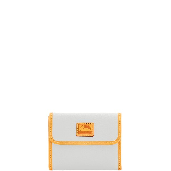 Dooney & Bourke Patterson Leather Small Flap Credit Card Wallet (Introduced by Dooney & Bourke at $98 in Dec 2016)