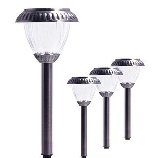 Maximus Brighter Premium Solar LED Pathway Light, Pack of 4