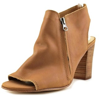 Sbicca Velma Women  Open Toe Leather Brown Wedge Heel