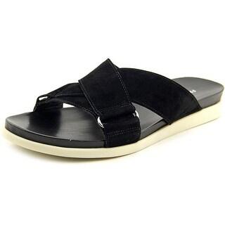 Franco Sarto Lure Open Toe Suede Slides Sandal