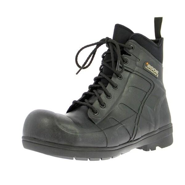 "Bogs Boots Mens Womens 7"" Turf Stomper Waterproof Rubber"