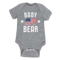 Baby Bear Patriotic  - Infant One Piece