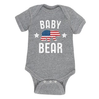Baby Bear Patriotic - Infant One Piece (4 options available)