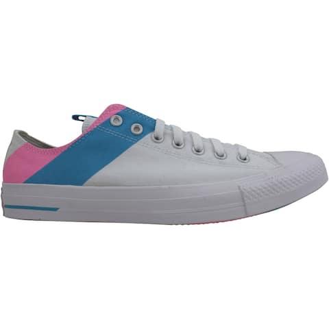 Converse CTAS Ox White/90s Pink/Gnarly Blue 167760C Men's