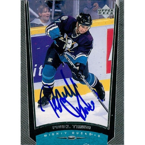 best authentic 90698 d403c Signed Trnka Pavel Anaheim Mighty Ducks 1998 Upper Deck Hockey Card  autographed