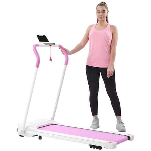 Folding Treadmill Portable Electric Treadmill Running Exercise Machine
