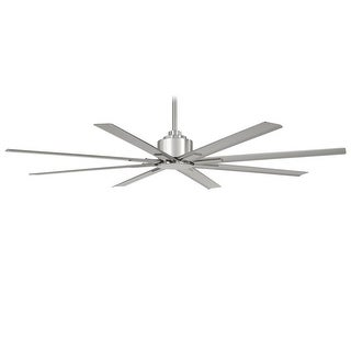"MinkaAire Xtreme H2O 65 Xtreme H2O 65"" 8 Blade Indoor / Outdoor DC Motor Ceiling Fan with Blades Included - n/a"