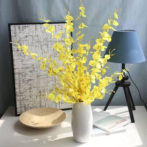 Simulation Oncidium Orchid Phalaenopsis Flowers For Wedding Decor Artificial