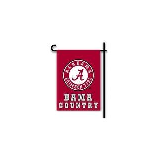Bsi Products Inc Alabama Crimson Tide 2-Sided Country Garden Flag Garden Flag