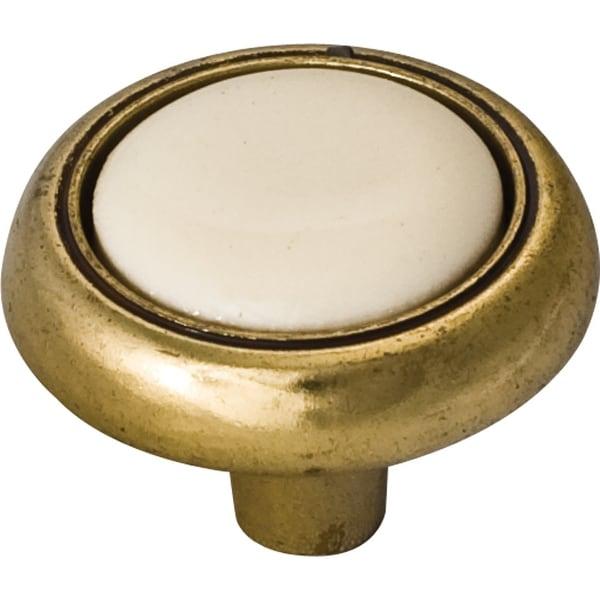Elements 5302 Sanibel 1-1/8 Inch Diameter Mushroom Cabinet Knob - N/A