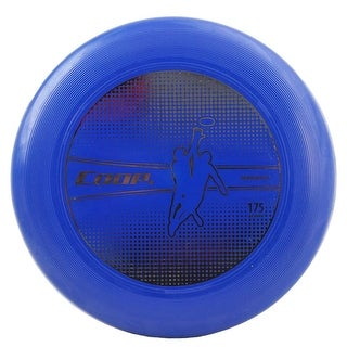 "10.75"" Metallic Gold and Blue Medalist 175G Water Resistant Flying Disc"