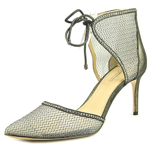 Imagine Vince Camuto Mark Women Pointed Toe Synthetic Gray Heels