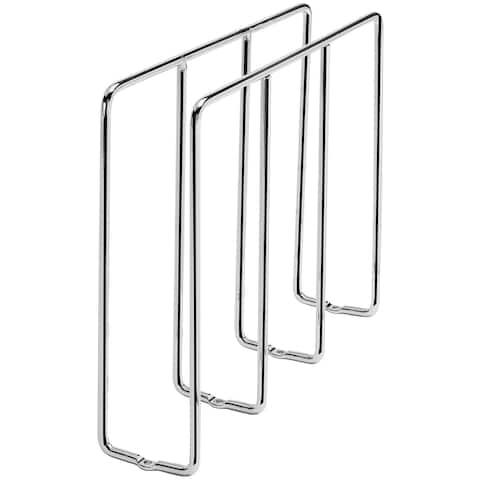 """Rev-A-Shelf 596-10-52 596 Series 10"""" U-Shaped Tray Divider for - Chrome"""