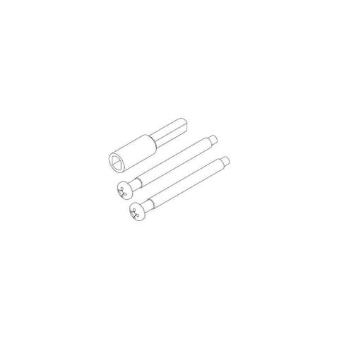 """Kwikset 81714 2-1/4"""" Thick Door Screw Pack for All Kwikset Signatures - Natural"""