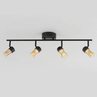 Link to Artika Oxion Track 4 Light Fixture Black Brass Similar Items in Track Lighting