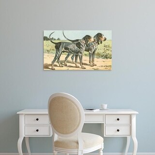 Easy Art Prints Unknown's 'Man's Best Friend VIII' Premium Canvas Art