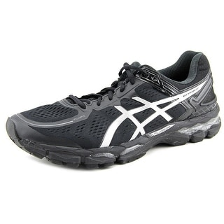 Asics Gel-Kayano 22 Men  Round Toe Synthetic Black Running Shoe