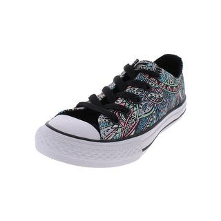 80ae1d4a14ce Converse Girls Skate Shoes Low Top Round Toe