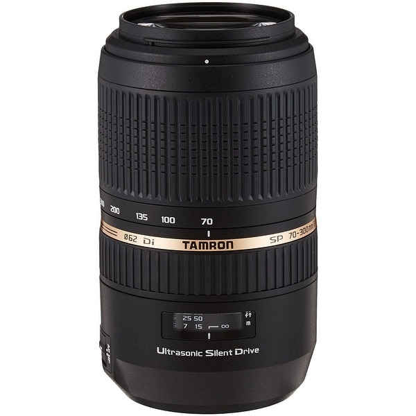 Tamron SP Af 70-300Mm F/4-5.6 Di VC USD Lens For Sony - International Version (No Warranty) - black