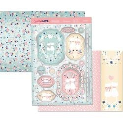 A Purr-Fect Anniversary - Hunkydory Special Days A4 Topper Set