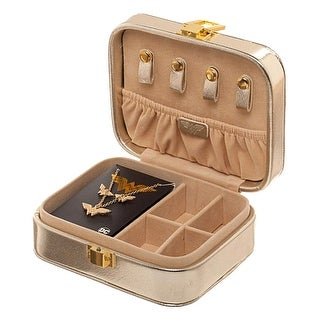 Bioworld Wonder Woman Jewelry Set Logo Necklace and Earrings with Branded Jewelry Box Case