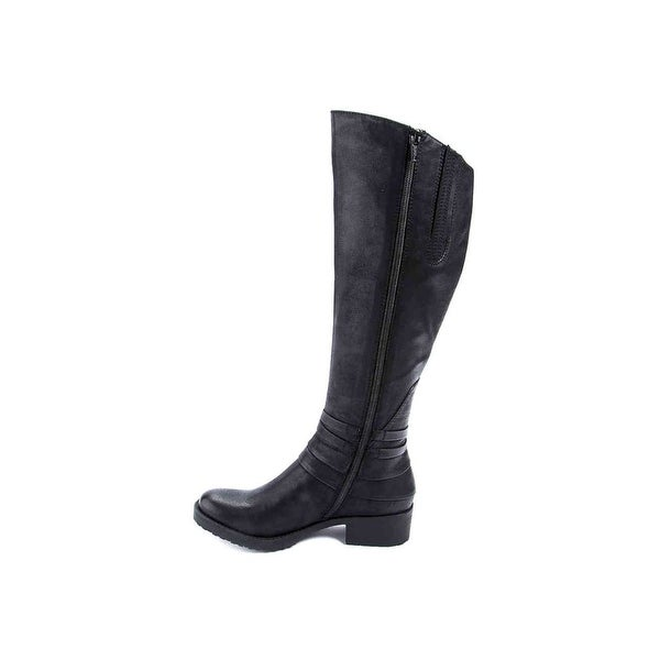 Bare Traps Womens Oudrey Closed Toe Knee High Fashion Boots
