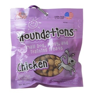 Loving Pets Houndations Training Treats - Chicken 4 oz | Overstock com  Shopping - The Best Deals on Dog Treats