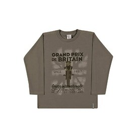 Boys Long Sleeve T-Shirt Graphic Tee Kids Pulla Bulla Sizes 2-10 Years