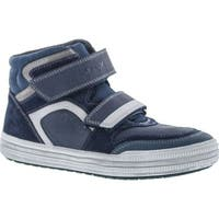 Geox Boys Elvis Casual High Top Fashion Sneakers - Navy/Grey