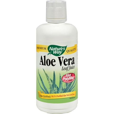 Nature's Way - Organic Aloe Vera Whole Leaf Juice ( 2 - LTR)