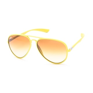 Ray-Ban Aviator Liteforce Sunglasses Yellow - Small