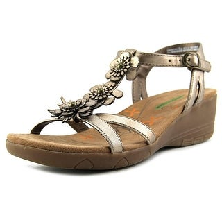Baretraps Hammond Women  Open Toe Synthetic Bronze Wedge Sandal