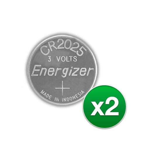 Replacement Battery for Energizer CR2025VP (2-Pack) Replacement Battery