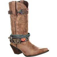 Crush by Durango Women's Accessorized Western Boot, #DCRD145