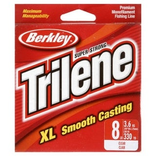 Berkley Trilene XL Premium Clear Fishing Line, 8 Lbs, 330 Yard