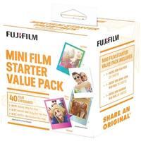 FUJIFILM 600017191 Instax(R) Mini Film Pack (Starter Value Pack)