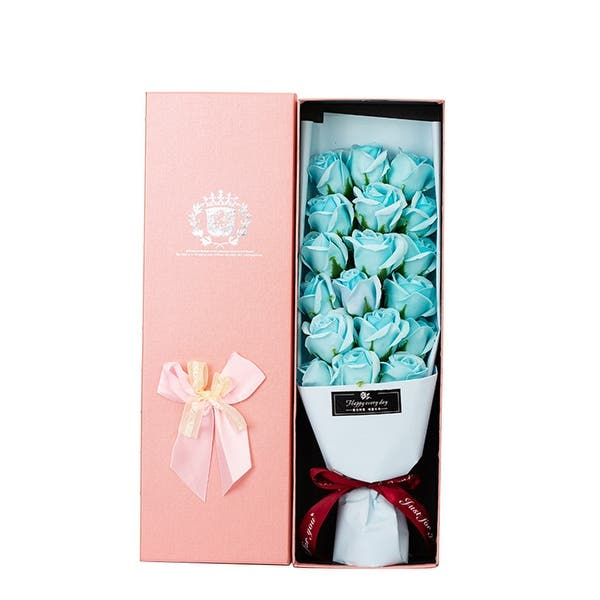ZS ZHISHANG Soap,Rose,And,Cupid,Carved,Soap,Flower,Gift,Box,Storage,Display,Flower,Gift,Box,for,Lovers