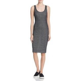 Splendid Womens Casual Dress Knee-Length Ribbed