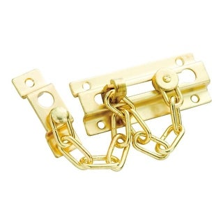 First Watch 1878 Chain Door Guard with Additional Chain Securing Point