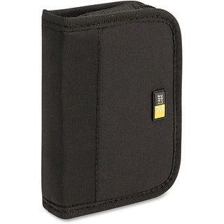 Case Logic JDS-6 BLACK Case Logic 6 Capacity USB Drive Shuttle - Book Fold - Neoprene - Black