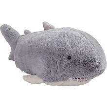 Pillow Pets Grey Pillow Pet- PeeWee Shark - 11""