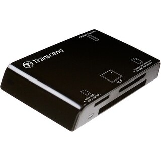 """Transcend TSRDP8KM CARD READER ALL IN ONE P8 BLACK"""