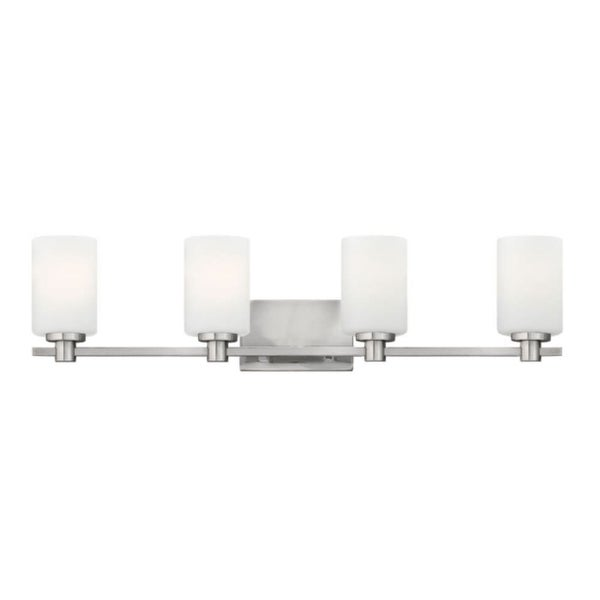 Hinkley Lighting 54624 4-Light Bathroom Fixture from the Karlie Collection - n/a