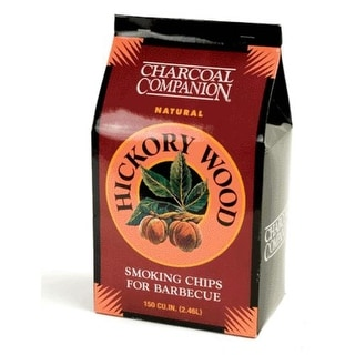 Charcoal Companion CC6018 Hickory Wood Smoking Chips, 144 Cubic inch
