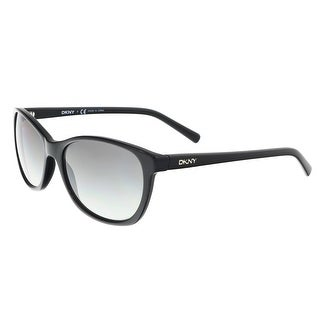 DKNY DY4093 300111 Black Oval Sunglasses - 56-17-140