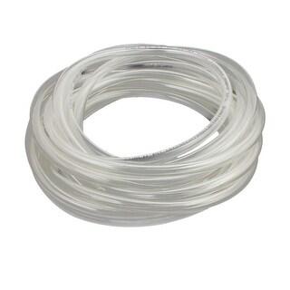 8mm x 5mm PU Flexible Pneumatic Air Tubing Pipe Hose Tube Clear 5.55m Length